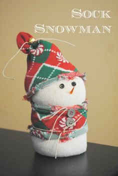 Gingerly Made: Sock Snowman Craft Party