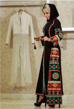 پاییزه Abaya Fashion, Ethnic Fashion, Modest Fashion, Fashion Art, Fashion Dresses, Night Gown Dress, Iranian Women Fashion, Afghan Dresses, Persian Girls