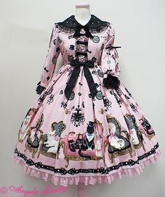 Angelic Pretty Princess Catワンピース