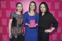 My na Gali ELLE International Beauty Awards 2015 z Martą Rudowicz, zastępcą redaktor naczelnej, szefową działu Uroda ELLE. fot. AKPA #clochee #ellepoland #elleinternationalbeautyawards