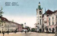 Munkatsch (Munkács - Mukatschewe), Rakocistraße Die Habsburger, Kaiser Wilhelm, Notre Dame, Street View, Building, Travel, District Court, Birthing Center, Forts
