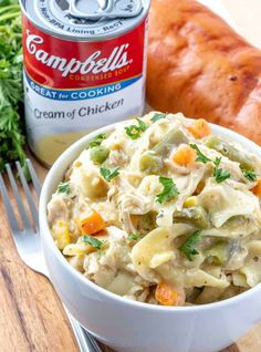 Slow Cooker Chicken and Noodles  A Hearty Weeknight Dinner. Chicken And Noddles, Crockpot Chicken And Noodles, Chicken Soup Recipes, Slow Cooker Chicken, Crockpot Cream Of Chicken, Cream Of Chicken Soup, Slow Cooker Recipes, Crockpot Recipes, Crockpot Dishes