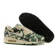 lowest price 79b07 40f16 Women Nike Air Max 90 Green Black Shoes Zapatillas Nike Air, Envio Gratis,  Baratas