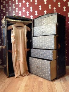 wardrobe trunk from the 20's - 30's