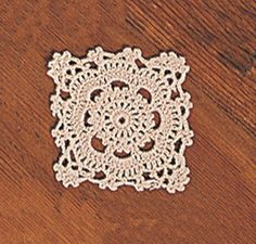 Set of 4 Handmade Crochet Lace Doilies. 4 Inch Square. Beige Color. by Fennco. $4.99. measures 4 inch by 4 inch. beautiful handmade crochet lace doily in beige color. machine washable. set of 4. made from cotton thread. This beautiful doily set is done in vintage style with a handmade crochet lace design. Measures approx. 4 inch by 4 inch. Made of 100% cotton. Machine washable.