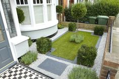 Information about front yard landscaping ideas, simple design for low maintenance garden and house flower small beds landscape with pictures