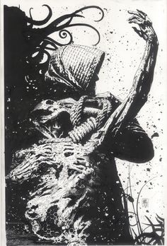 Splash Page Comic Art :: For Sale Artwork :: Hangman Cover by artist Tim Bradstreet