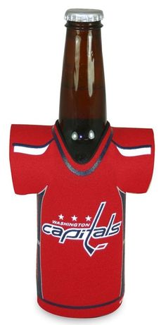 914bf96d8a0 Washington Capitals Bottle Jersey Holder Red Special Order