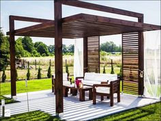Backyard Pergola Plan Ideas For Beautiful Garden , When it has to do with lighting a pergola, there are many ideas to think about. A pergola built on the patio will make sure that you entertain guests . Diy Pergola, Building A Pergola, Backyard Canopy, Garden Gazebo, Pergola Canopy, Wooden Pergola, Outdoor Pergola, Pergola Shade, Backyard Patio