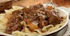Classic Recipe: Beef Bourguignon With Farfalle