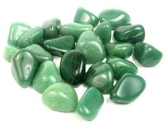 Green Aventurine Gemstone Tumbled - The Blue Budha Types Of Crystals, Stones And Crystals, Green Adventurine, Leadership Abilities, Hag Stones, Baby Witch, Good Luck To You, Tumbled Stones, Opals