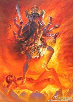 Vajrayogini, Indian Interpretation