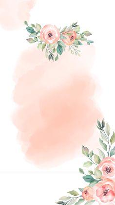 Flower Background Design, Flower Background Wallpaper, Flower Backgrounds, Pink Wallpaper, Wallpaper Backgrounds, Wedding Cards, Wedding Invitations, Flower Graphic Design, Motif Art Deco