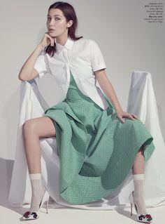 Bella Hadid por Robbie Fimmano para Vogue Austrália Abril 2015 [Editorial]