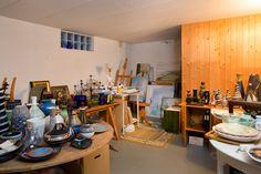 Källarvåning med hobbyrum / gillestuga