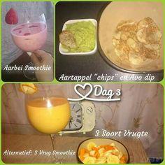 28 Dae Dieet, Dieet Plan, Wees, Banting, Fat Burner, Meal Planning, Smoothie, Om, Chips
