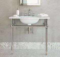 35 Best Console Sink Images Bathroom Ideas Console Sink Bathroom