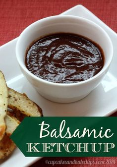 Balsamic Ketchup - how to make the best flavored ketchup with no added sugar | cupcakesandkalechips.com | gluten free, vegan