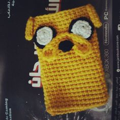 Adventure Time: Jake the Dog Phone Cozy - Free by Michelle Malice