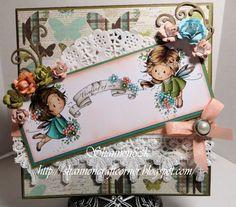 Sylvia Zet: April Release flower fairies