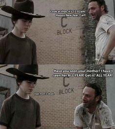 The 19 Greatest Dad Jokes From Rick Grimes | Our 13 Favorite BuzzFeed Geeky Posts Of 2013
