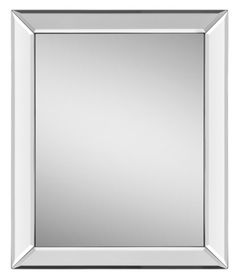 This Simple And Elegant Mirror Features A Polished Framed With Beveled Borders
