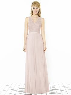 After Six Bridesmaids Style 6715 http://www.dessy.com/dresses/bridesmaid/6715/?colorid=1#.VgdMHMT3arU