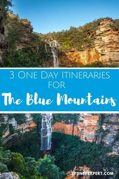Helpful advice and 3 self-guided itineraries for planning a visit to the Blue Mountains using public transport or the Hop on Hop off bus.  This is one of the best things to do on your visit to Sydney. #Australia #Sydney  via @sydneyexpert