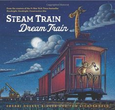 Sweet bedtime read for your little train lover.