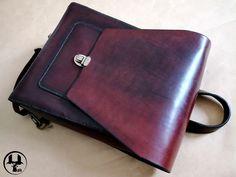 Рюкзак из натуральной кожи Angle - Купить Кожаный рюкзак, кожаный рюкзак  ручной работы, natural leather, hand made, ярмарка мастеров 0e9ec2d564e