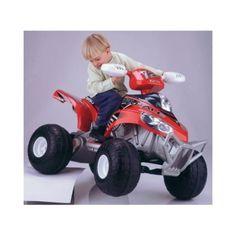 Quad FEBER Brutal 12V de color rojo, FEBER 3077, IndalChess.com Tienda de juguetes online y juegos de jardin