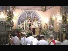Primera Salve a la Virgen del Rocío de Pastora en Almonte (Huelva) #RocíoJubilar
