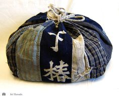 Japanese bag of old fabric
