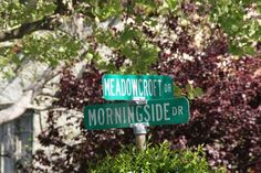 Morningside and Meadowcroft, heart of Broadmoor Park in San Anselmo, Marin County, CA