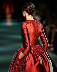 Every Fall-Winter season, GEORGES HOBEIKA's couture creations awe and inspire. Less than a month to go...!