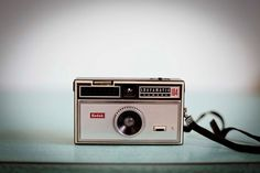 Vintage Kodak Instamatic 104 Camera 1970s 126 Film by TheNeonOwl