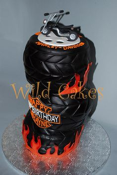 Harley cake | Flickr - Photo Sharing!