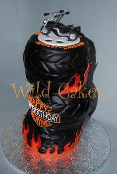 Harley cake | Flickr - Photo Sharing!