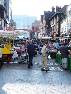 Croydon market. Surrey at.london