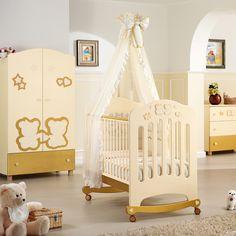 entdecken sie besondere babymbel zum beispiel dieses luxus babyzimmer prestige gold mit glitzernden - Babyzimmer Luxus