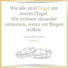 Ein sehr schöner Spruch - als Hochzeitsspruch oder über die Liebe im Allgemeinen <3 #Hochzeit #Liebe #Poesie #Engel #Hochzeitseinladung
