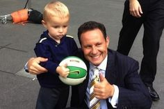Brian Kilmeade 'Buries Hatchet' With Toddler He Hit in Face With Basketball - http://celeboftea.com/brian-kilmeade-buries-hatchet-with-toddler-he-hit-in-face-with-basketball/