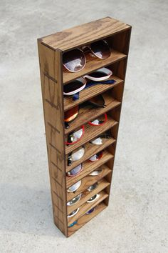 ct 10 gafas de sol organizador Rack Stand caso caja cajón