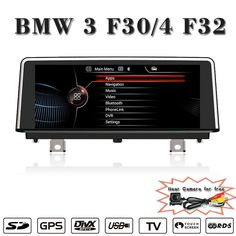 ANDROID 4.4.4 10.25 inch  Reversing Track function for BMW 3 series dvd Multimedia Radio Bluetooth Phonebook USB Touch Screen #Affiliate