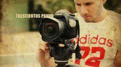 David Santaella durante el rodaje de Trescientos Pavos (300 Pavos)