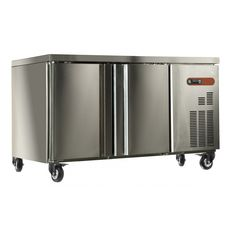 Coolpoint KXF1350 Double Door Catering Counter Freezer - Stainless Steel