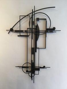 Metal Wall Sculpture, Abstract Sculpture, Wall Sculptures, Sculpture Art, Abstract Art, Found Object Art, Art Object, Kandinsky Art, African Artwork