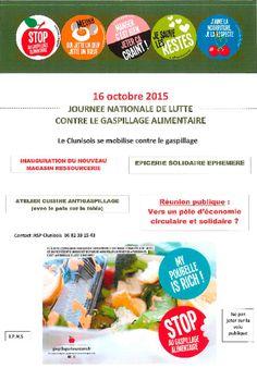 "Inauguration de la ressourcerie ""Les moulins"" de Cluny le 16 octobre 2015."