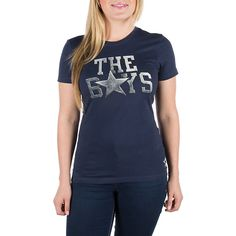 84cba821 NFL Dallas Cowboys Nike Womens Local Tee. Get it in Navy or Grey at shop