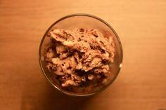 Easy Healthier Chocolate Brownie Banana Ice Cream - BarkingBaking.com